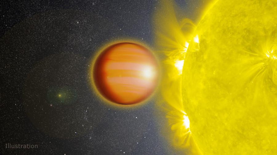 Обнаружена экзопланетная стратосфера из угарного газа