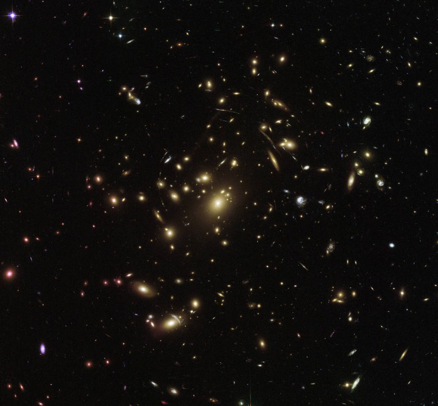 Abell Cluster 2537 galaxies, Clusters, Abell, Dark, others, enhances, characteristics, objects, move, forcing, warp, gravity, Except, energy, play, distorted, powerful, matter, creating, forms