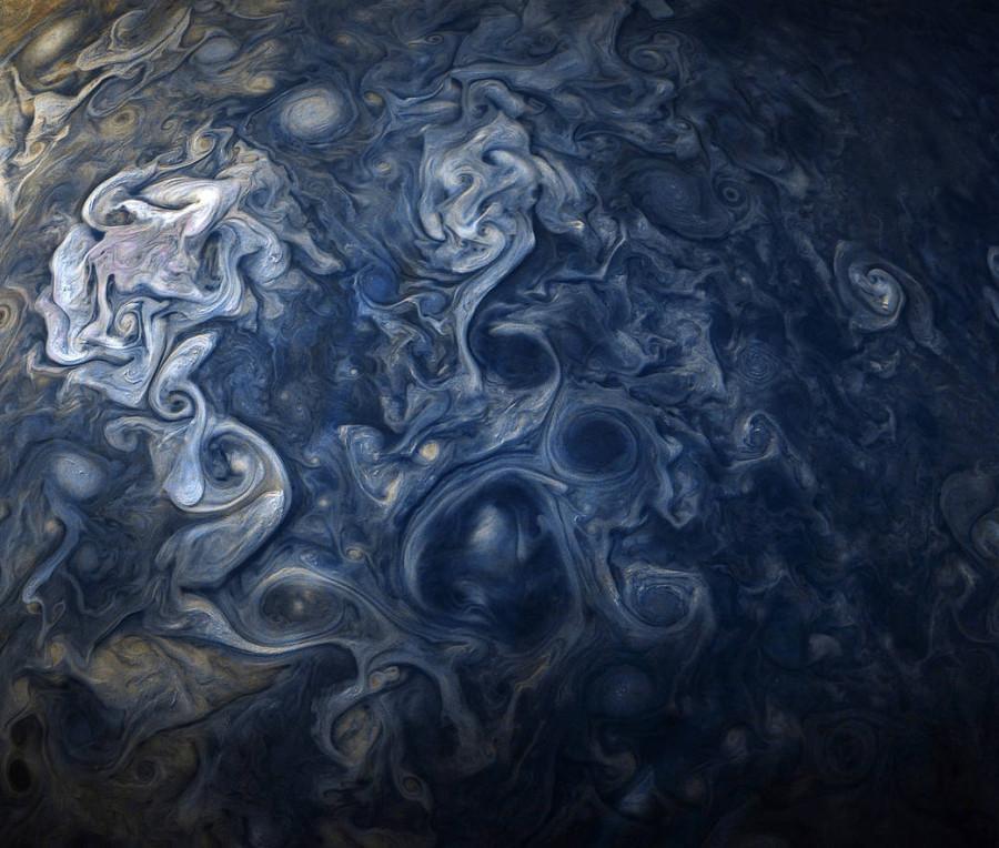 Облака гиганта, Суперлуние 2017 и выход «Джеймса Уэбба»