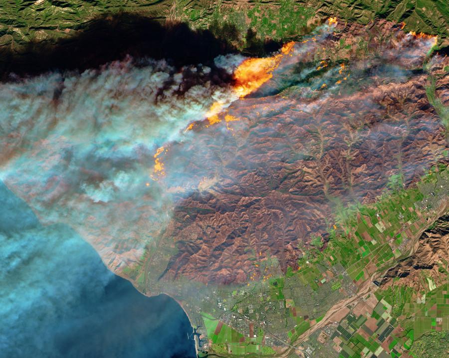 Огненная Калифорния, Охотское море и озоновый слой Земли