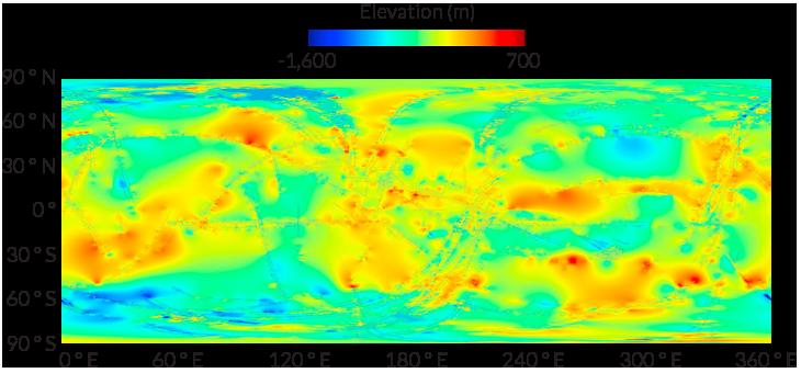 Построена наиболее подробная топографическая карта Титана