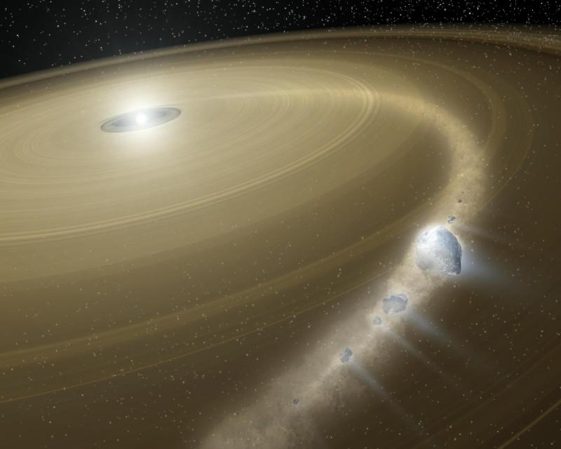 «Подмигивания» звезды связали с гибелью экзопланеты