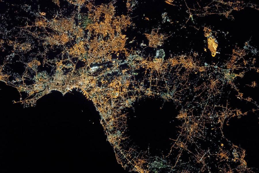 Ночной Неаполь