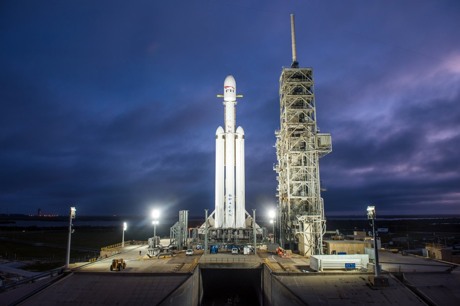Запуск Falcon Heavy назначен на 6 февраля