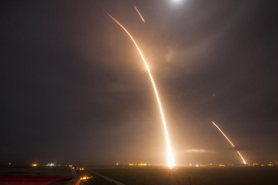 Первый космический запуск 2018 года