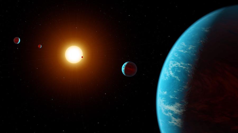 Астроэнтузиасты помогли найти звездную систему с пятью экзопланетами