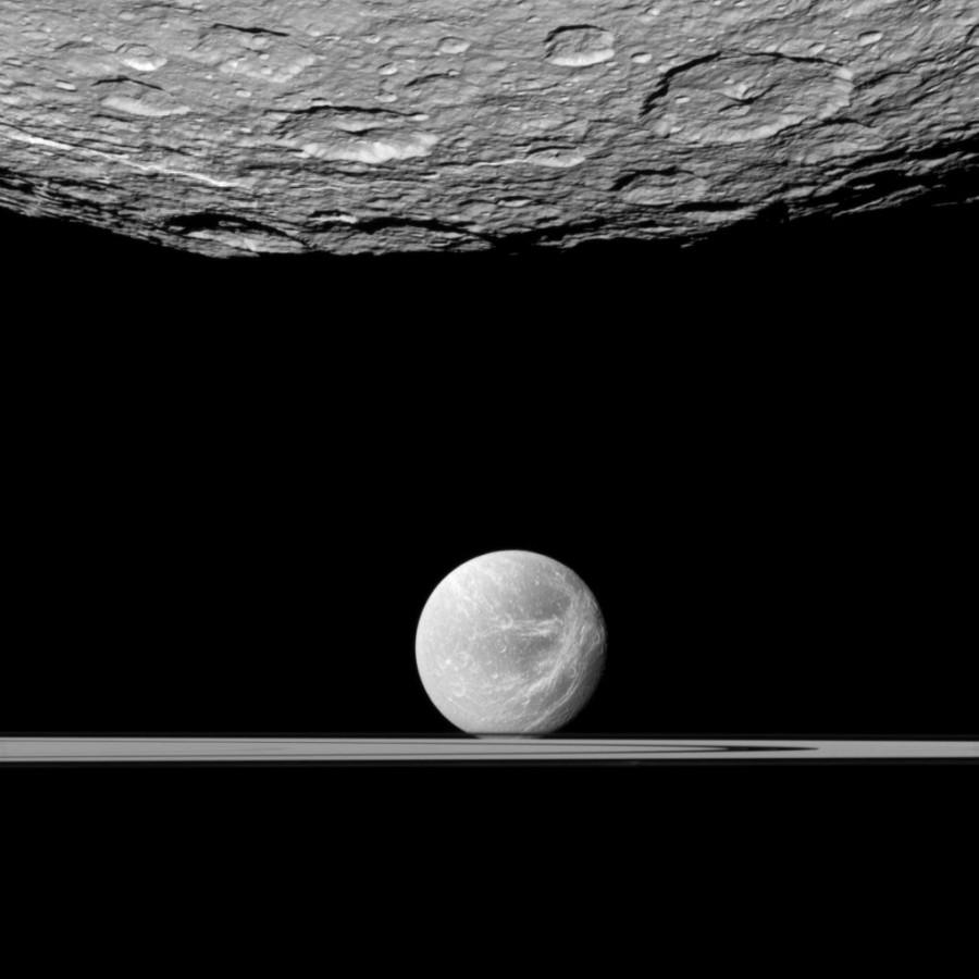 Геометрия системы Сатурна