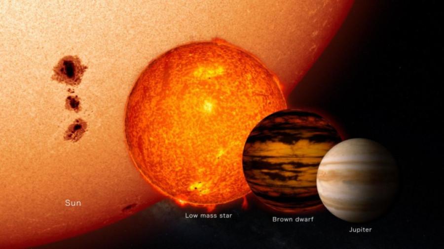 Телескоп «Хаббл» обнаружил большую популяцию субзвездных объектов в туманности Ориона