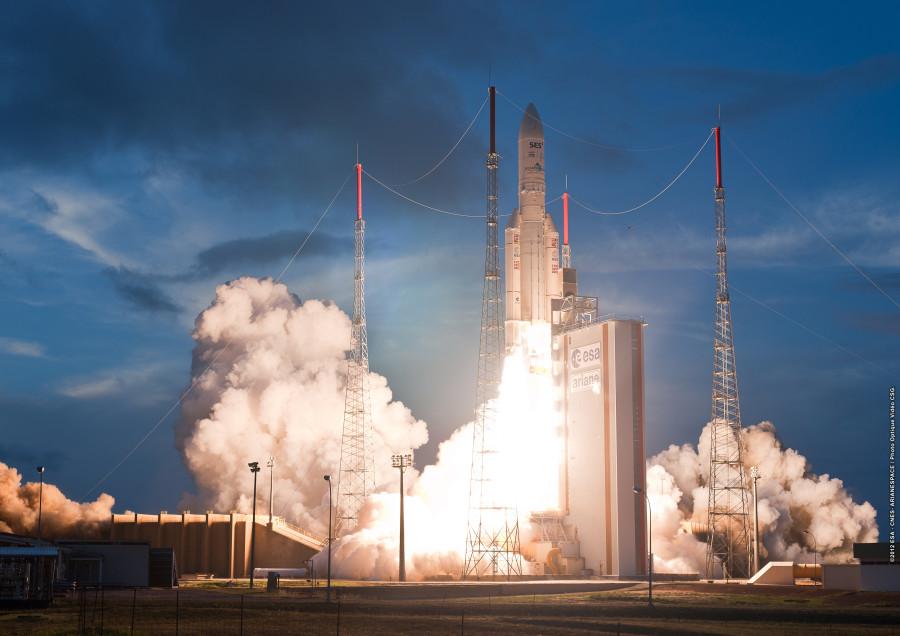 Ракете Ariane 5 осталось совершить 23 полета до своей отставки