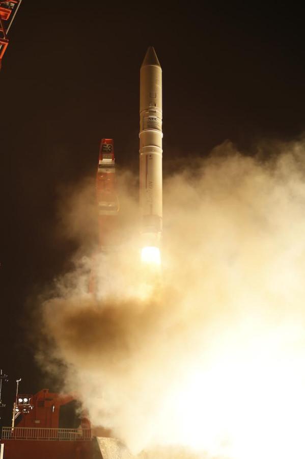 Запуск ракеты Epsilon
