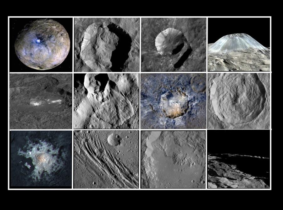 Главные геологические достопримечательности Цереры