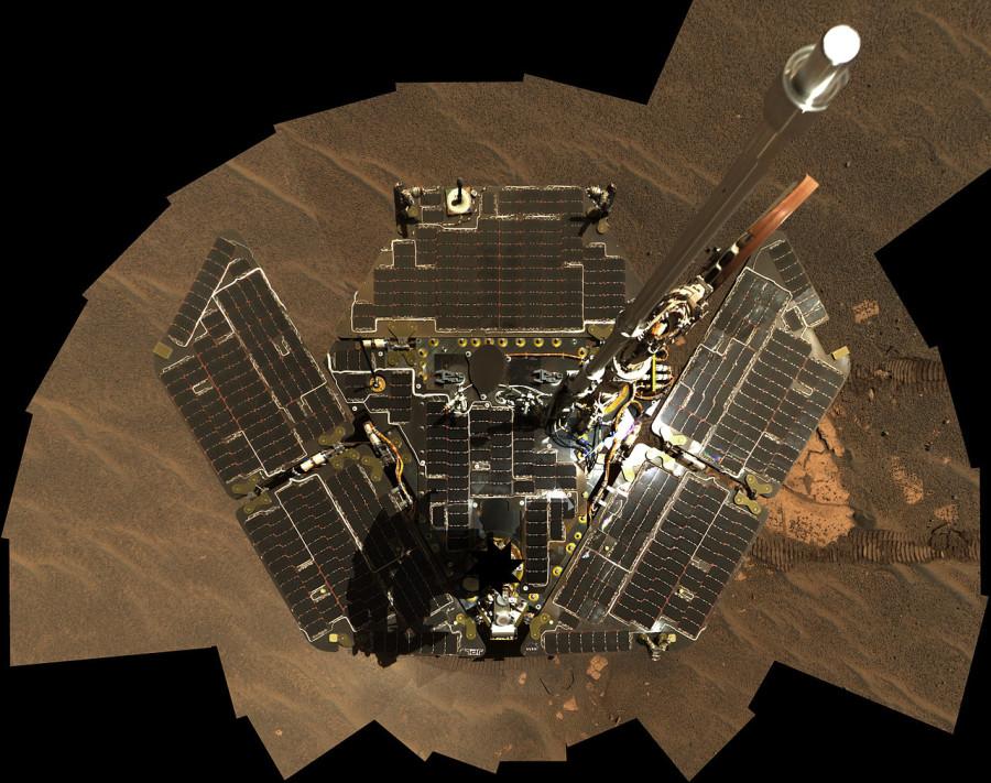 Марсоход Opportunity отметил 14 лет пребывания на Марсе Opportunity, марсоход, работы, времени, Марсе, службы, аппарата, достаточно, миссии, ветер, количество, энергии, очень, панели, столкнулся, сезон, сыграла, пережил, начнется, Номинальный