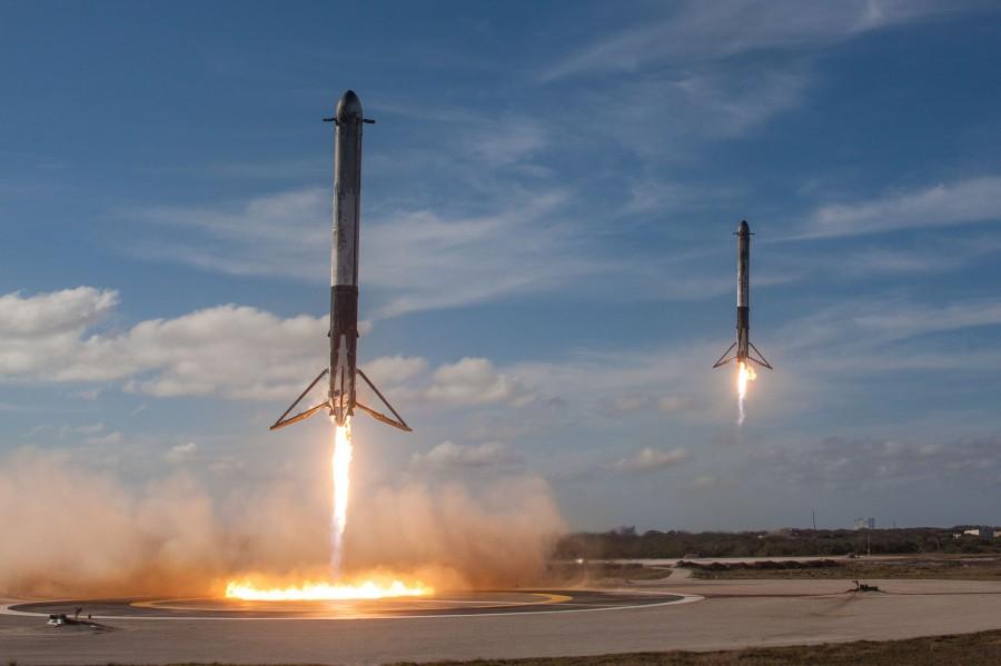 SpaceX планирует посадить первую ступень Falcon 9 на западном побережье США