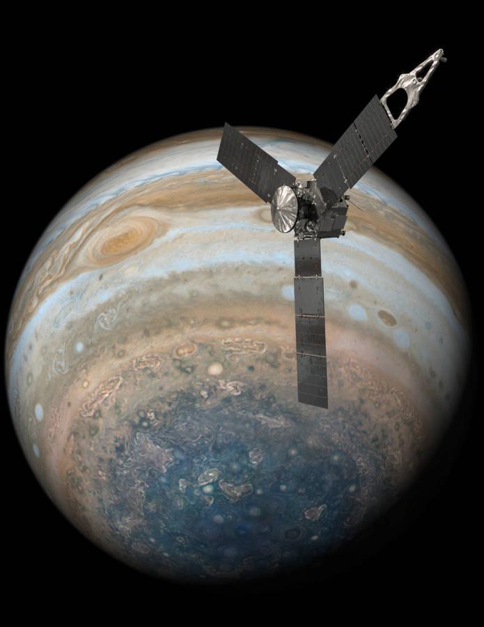 Аппарат «Юнона» завершил одиннадцатую орбиту вокруг Юпитера