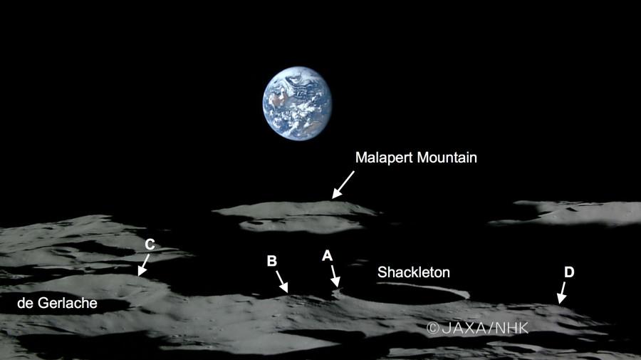 Найдены новые доказательства существования водяного льда на Луне