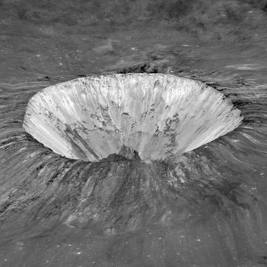 Блистательный кратер Пьераццо
