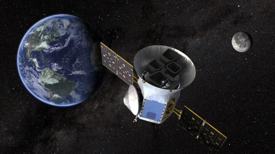 Опубликован первый снимок телескопа TESS