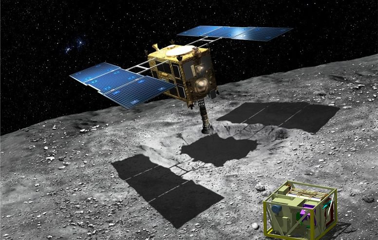 """Hayabusa-2"" began to draw closer to the asteroid Ryugu substance, ""Hayabusa 2"", station, asteroid, asteroid, general, mission, Earth, station, framework, complexity, capsule, asteroid, will be, samples, surface, center, MASCOT, several problems"