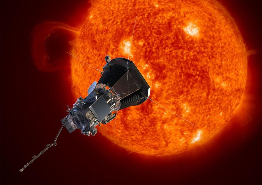 Солнечный зонд Parker сделал первую фотографию