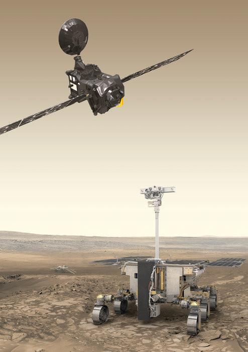 ESA провело первое испытание парашюта ExoMars