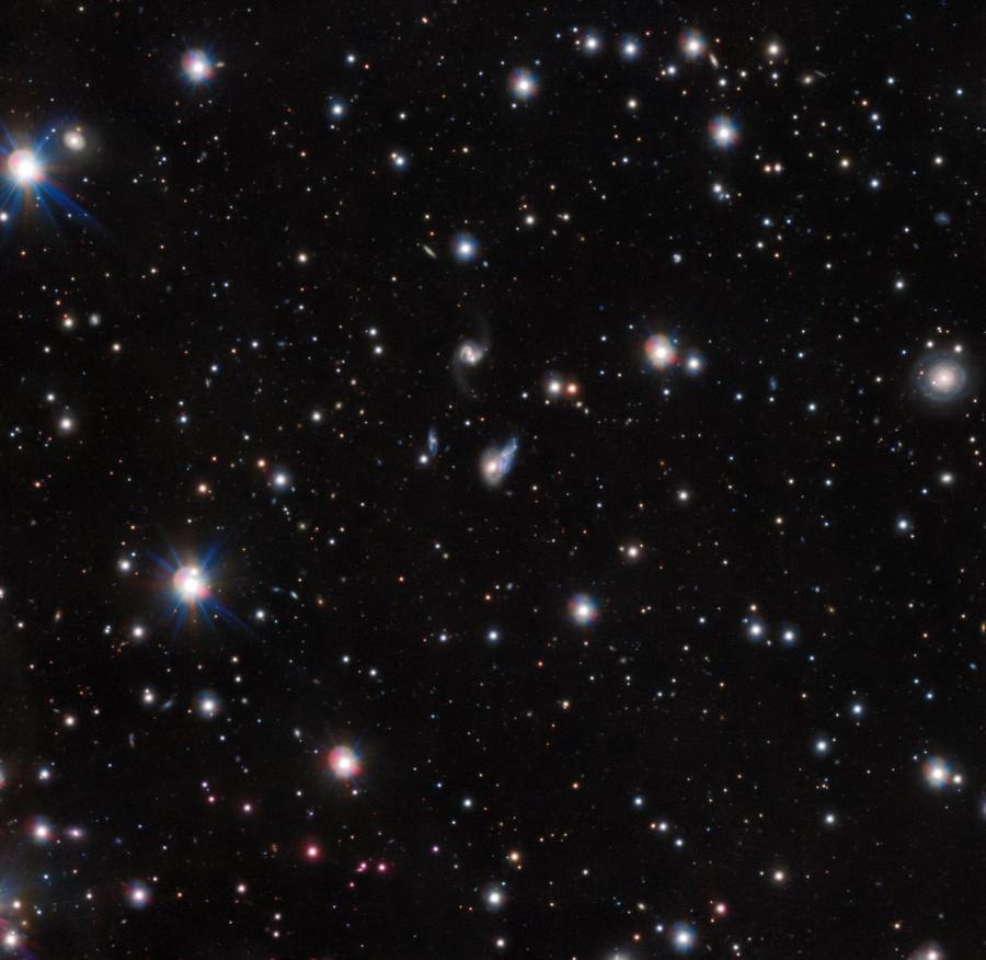 Европейская южная обсерватория сфотографировала галактическое световое эхо