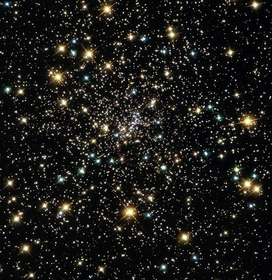 Телескоп «Хаббл» помог уточнить расстояние до шарового скопления