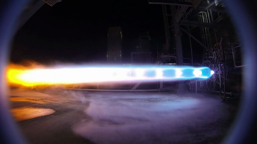 Blue Origin has changed the configuration of the second stage of the New Glenn Glenn rocket, should, time, be, Origin, first, decision, allow, engine, stage, orbit, Test, companies, second, stage, rocket, BE4Originally, get, oxygen, hydrogen