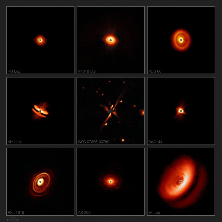 Звезды нашей галактики сформировались в два этапа