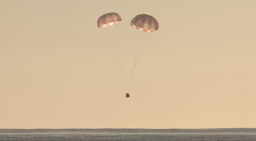 SpaceX планирует возвращать корабли Dragon в Мексиканский залив