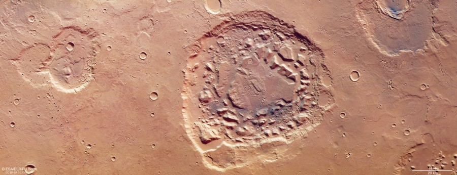 Ударный кратер или супервулкан?