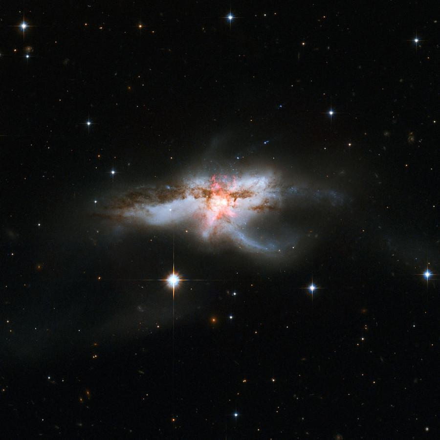 Астрономы установили природу космической «бабочки»