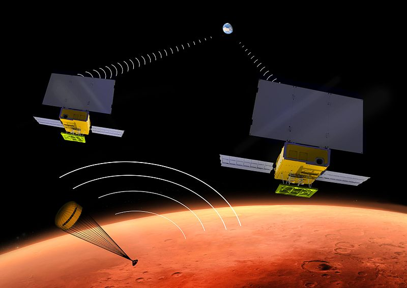 NASA is preparing to send to Mars the first interplanetary Kubsaty InSight, VALLY, will, platforms, CubeSat, vehicles, data, planets, the main, quite, concerned, very, Earth, can, missions, another, successfully, together, go, orbit