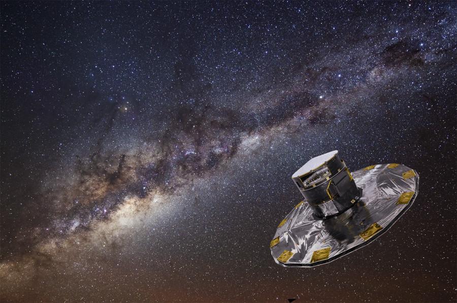 Опубликована вторая часть звездного каталога Gaia