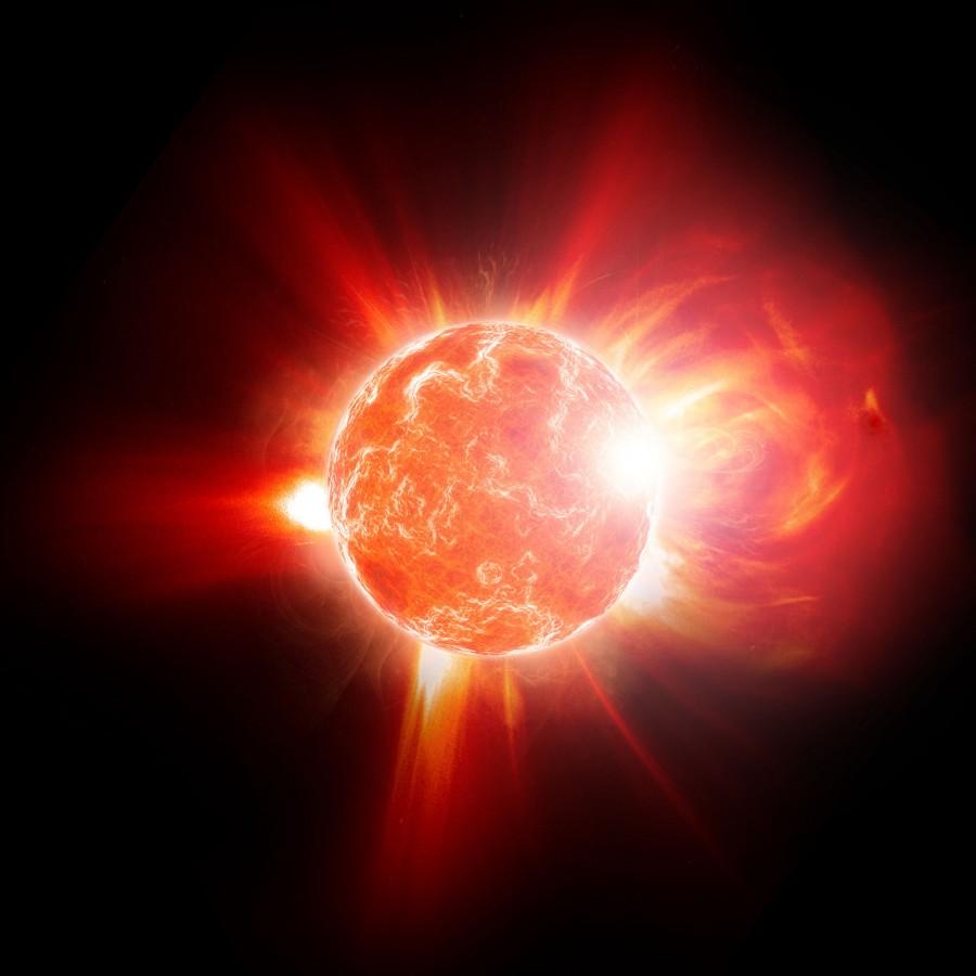Астрономы нашли звезду благодаря мощной вспышке