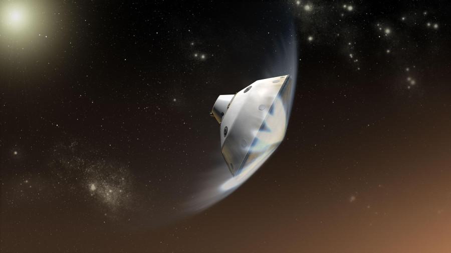 Теплозащитный экран Mars 2020 треснул во время испытаний