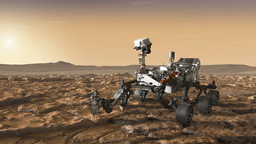 NASA проверило парашют миссии Mars 2020