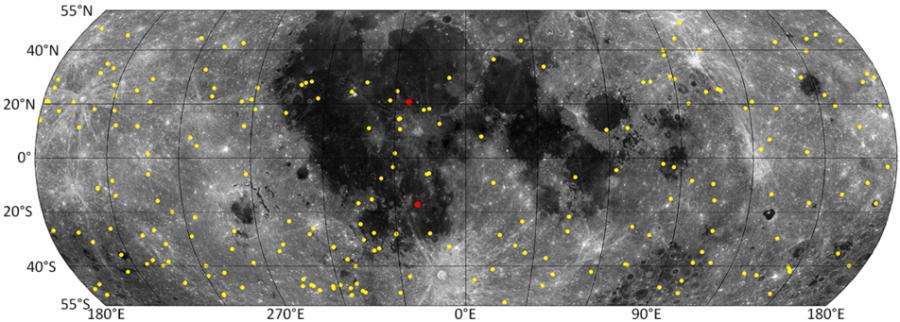 Поверхность Луны обновляется быстрее чем предполагалось