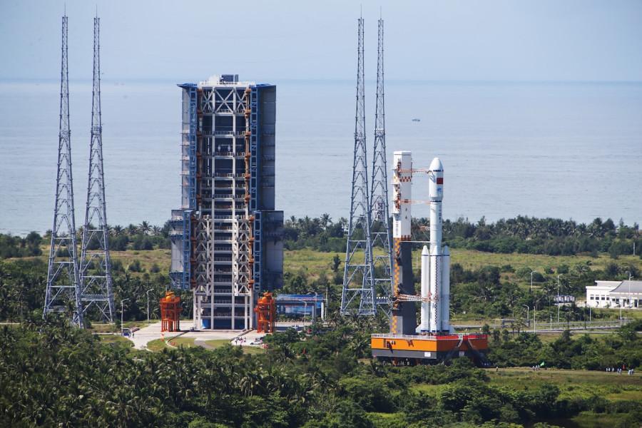 Китай разрабатывает ракету с возвращаемой первой ступенью