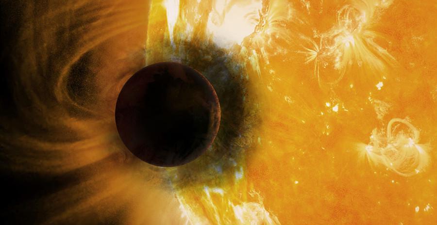 Телескоп «Хаббл» впервые обнаружил гелий в атмосфере экзопланеты