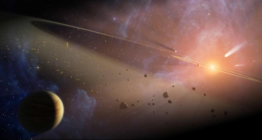 Астрономы  нашли астероид-изгнанник на окраине Солнечной системы