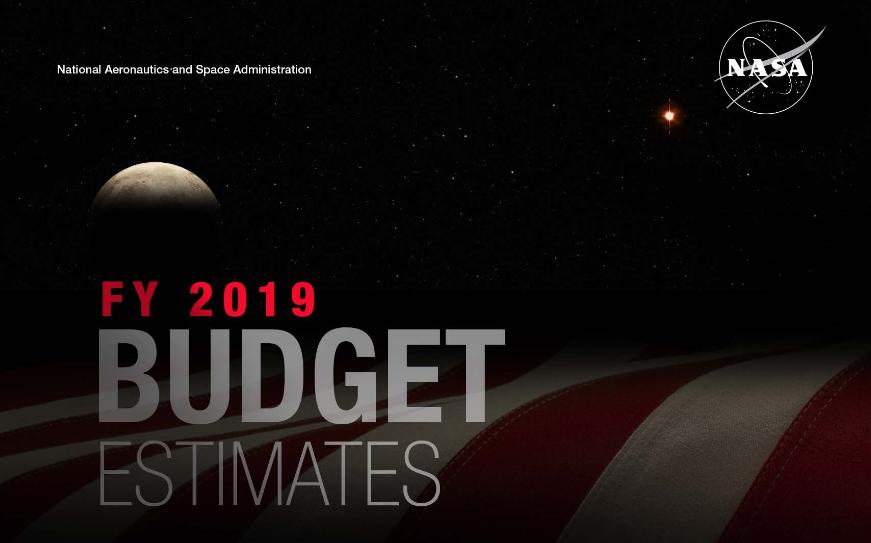 NASA может получить 21.5 миллиард долларов в 2019 году