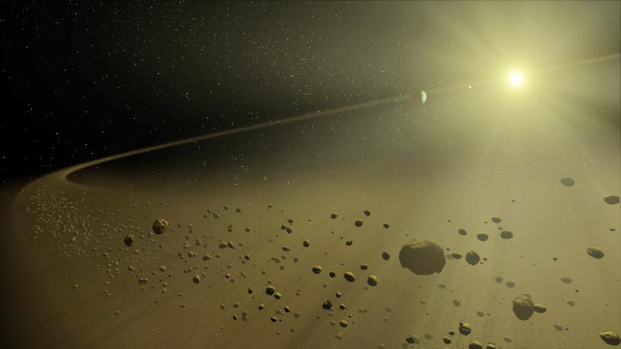 Уточнена дистанция пролета звезды Gliese 710