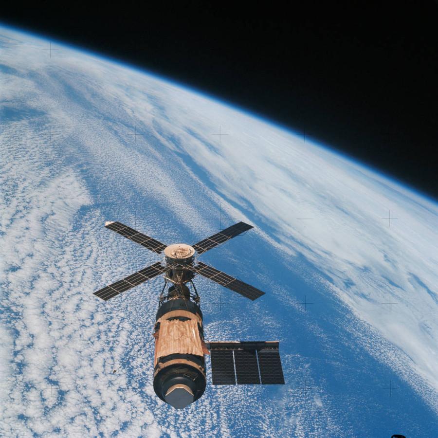 45 лет со дня запуска станции «Скайлэб»