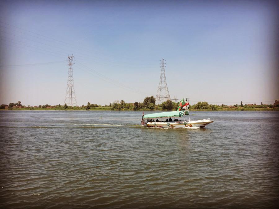 Плавание к Дельте Нила на речном трамвайчике.