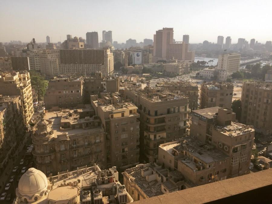 Вечерний Каир любителям панорамных видов.