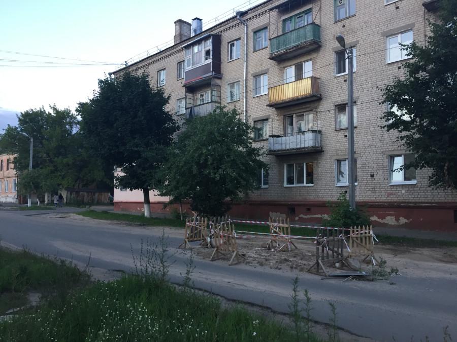 Ситуация с благоустройством дворов в моём родном городе Клинцы. брянская область