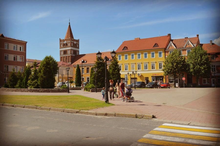 Правдинск (Фридланд): по городу.