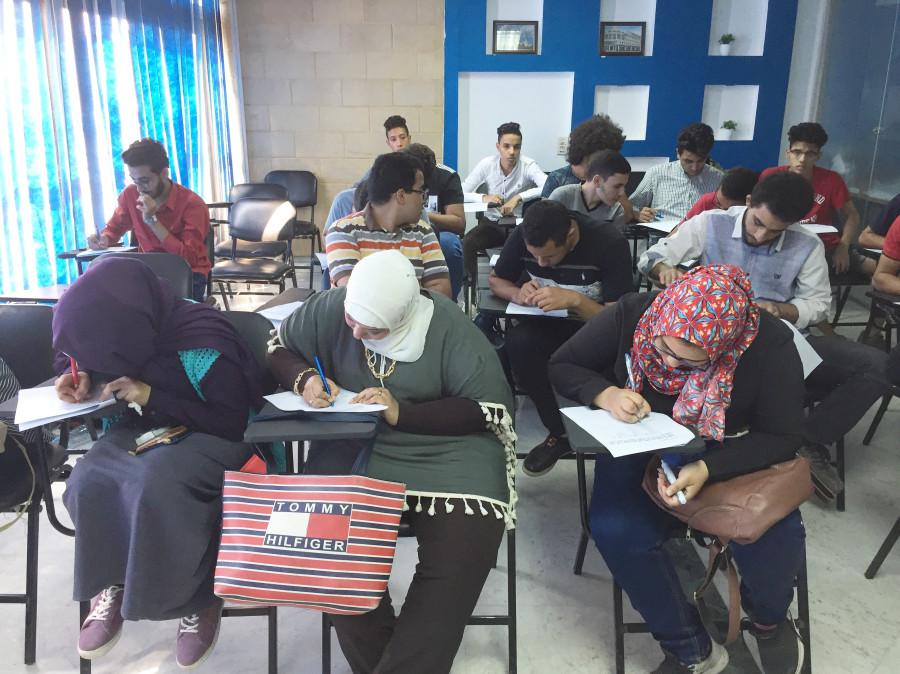 Будущие российские студенты из Египта. работа