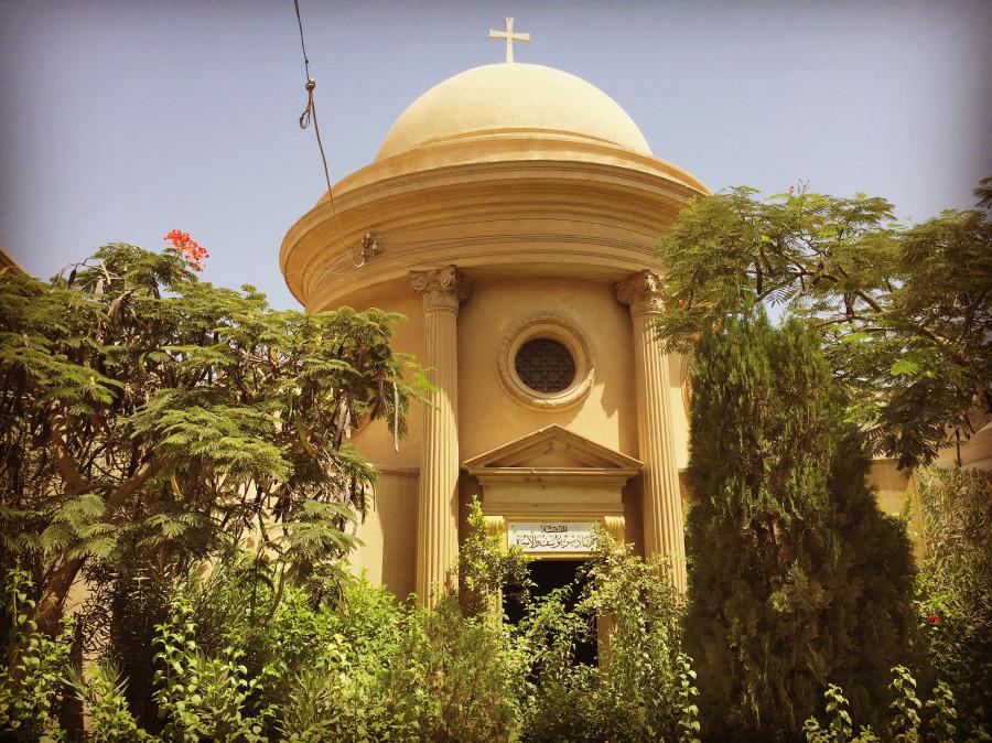 Коптское кладбище в Каире.