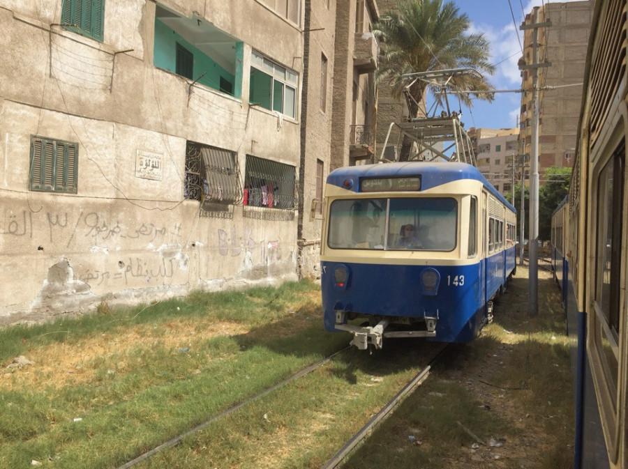 Трамваи Александрии.